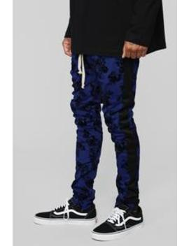 Petal To The Metal Track Pants   Blue by Fashion Nova