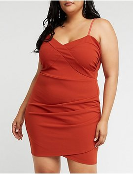 Plus Size Sweetheart Asymmetrical Dress by Charlotte Russe
