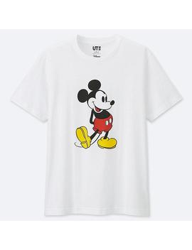 Men Mickey Stands Graphic Print T Shirt by Uniqlo