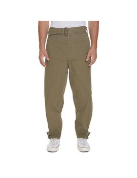 Garment Dyed Army Pants Khaki by J.W. Anderson