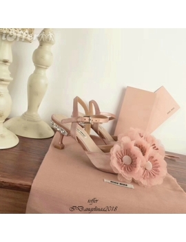 2018 Ss Hot Ladies Fashion High Heels Flower Sandals by I Offer
