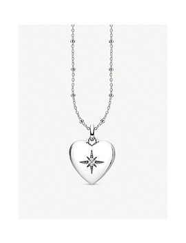 Glam & Soul Heart Shaped Sterling Silver And Diamond Locket by Thomas Sabo
