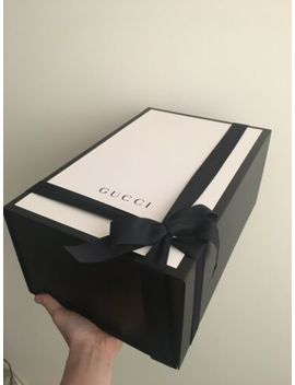 Large Gucci Gift Box   41x27x18 Cm + Free Gucci Gift Bag & Ribbon by Ebay Seller