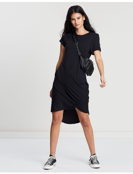 Twisted Tee Dress by Silent Theory
