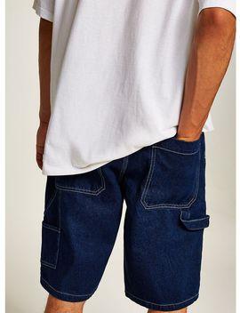 Indigo Carpenter Shorts by Topman