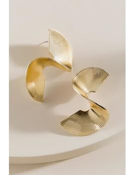 Nina Wavy S Shaped Drop Earrings by Francesca's