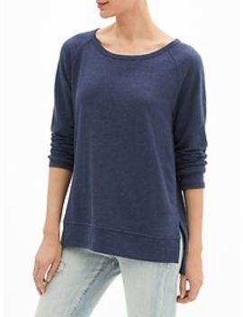 Raglan Sweatshirt Tunic In French Terry by Gap