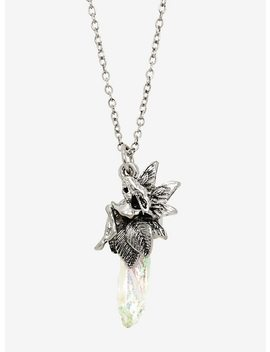Fairy Iridescent Crystal Pendant Necklace by Hot Topic