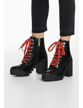 High Heel Stiefelette by Bershka