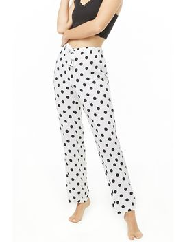Polka Dot Pajama Pants by Forever 21