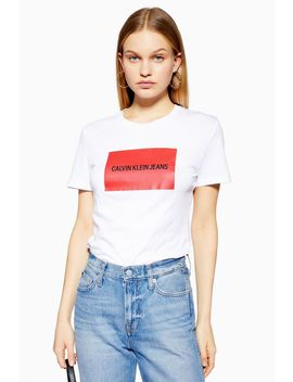 Slim Fit T Shirt By Calvin Klein by Topshop