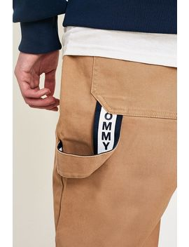 Tommy Jeans Sand Workwear Trousers by Tommy Jeans