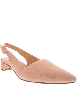 Franco Sarto Suede Pointed Toe Sling Backs   Vellez by Franco Sarto Are A Chic And Sophisticated Look That Goes