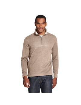 Men's Van Heusen Flex Colorblock Quarter Zip Fleece Pullover by Kohl's