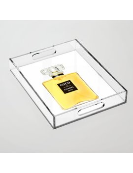 Luxury Perfume Bottle Acrylic Tray by