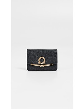Gancio Clip Card Case by Salvatore Ferragamo