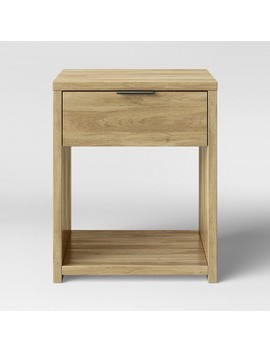 Accent Table With Drawer Natural   Made By Design™ by Shop This Collection