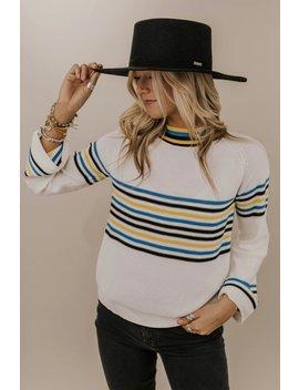 Boise Stripe Sweater by Roolee