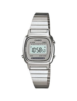 Casio Women's Illuminator La670 Wa 7 Silver Stainless Steel Quartz Fashion Watch by Casio