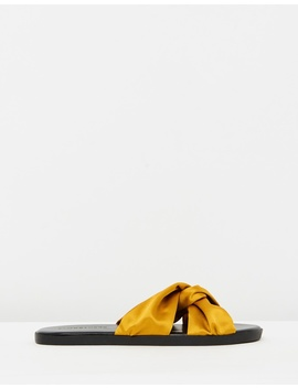 Iconic Exclusive   Mia Satin Sandals by Atmos&Here