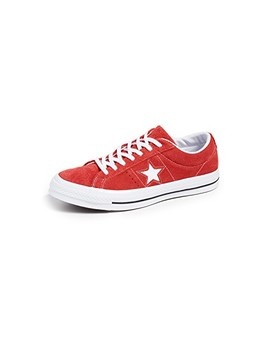One Star Suede Low Top Sneakers by Converse