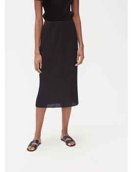 Basics Skirt by Issey Miyake Pleats Please