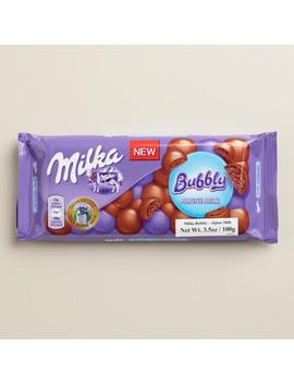 Milka Bubbly Milk Chocolate Bar by World Market
