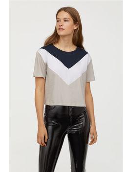 T Shirt Met Blokdessin by H&M