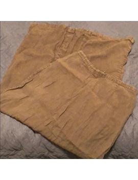 Vintage Linen Maxi Skirt by Vintage