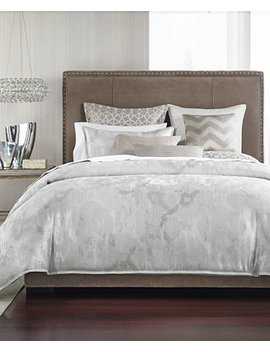 Interlattice Full/Queen Duvet Cover, Created For Macy's by Hotel Collection