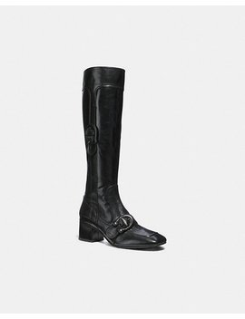 Knee High Signature Buckle Boot by Coach