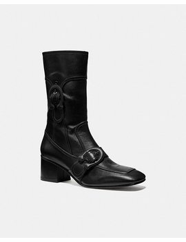 Signature Buckle Bootie by Coach