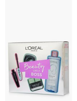 Loreal Beauty Like A Boss With Clay Gift Set by Boohoo