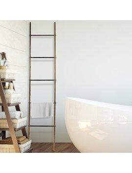 Gracie Oaks Delicia Metal Ladder 6.5 Ft Blanket Ladder & Reviews by Gracie Oaks