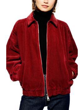 Jumbo Corduroy Jacket by Topshop