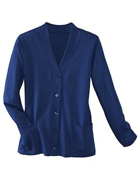 Ultra Softs Button Front Knit Cardigan by Ultra Softs