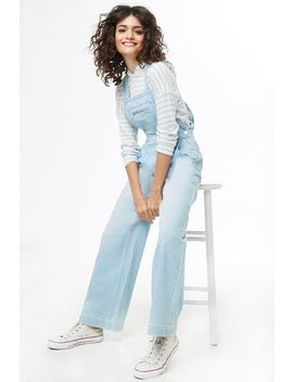 Wide Leg Overalls by Forever 21