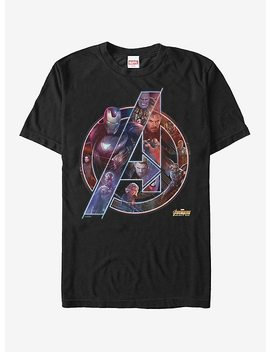 Marvel Avengers: Infinity War Logo T Shirt by Hot Topic
