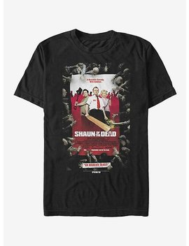 Shaun Of The Dead Poster T Shirt by Hot Topic