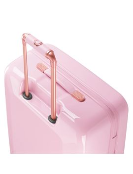 Splendor Pink Floral  8 Wheel Large Suitcase by Ted Baker