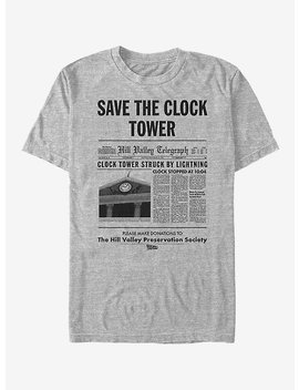 Back To The Future Clock Tower T Shirt by Hot Topic