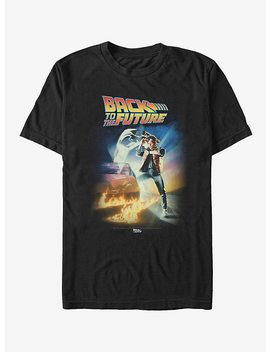 Back To The Future Poster T Shirt by Hot Topic