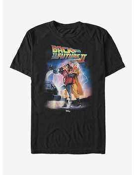 Back To The Future Ii Poster T Shirt by Hot Topic