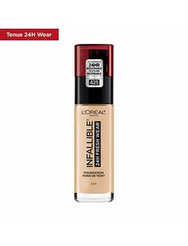 L'oreal Paris Infallible 24h Fresh Wear Liquid Face Foundation, Sand, 30 M L by Amazon
