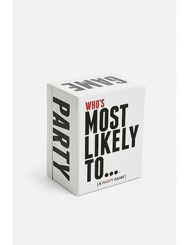 Who's Most Likely To… Party Game by Urban Outfitters
