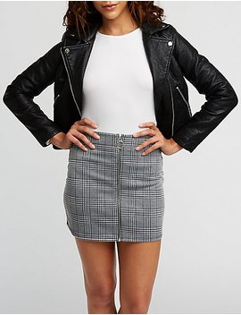 O Ring A Line Skirt by Charlotte Russe