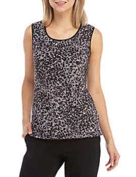 Animal Print Cami by Kasper