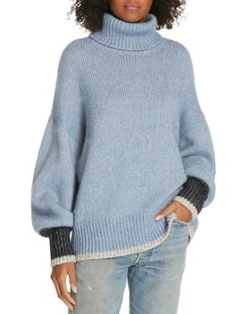 Oversize Turtleneck Sweater by La Ligne