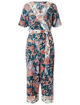 Paisley Mix Print Jumpsuit by Dorothy Perkins