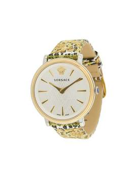 V Circle Tribute Watch by Versace